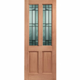 XL Joinery External Hardwood Malton Drydon Double Glazed D&G Door