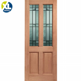 External Hardwood Malton Drydon Double Glazed D&G Door