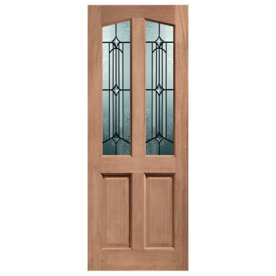 XL Joinery External Hardwood Richmond Donne Decorative Double Glazed M&T Door