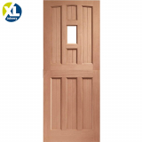 External Hardwood Stable 1 Light Unglazed D&G Door