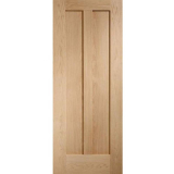XL Joinery Internal Oak Novara Shaker 2 Panel Fire Door FD30
