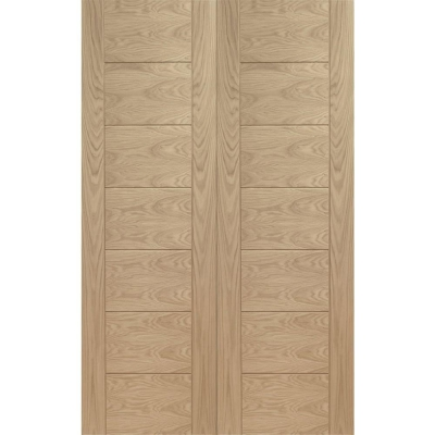 XL Joinery Internal Oak Palermo Door Pair
