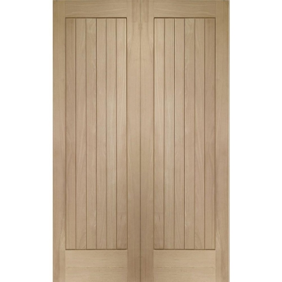 XL Joinery Internal Oak Suffolk Door Pair