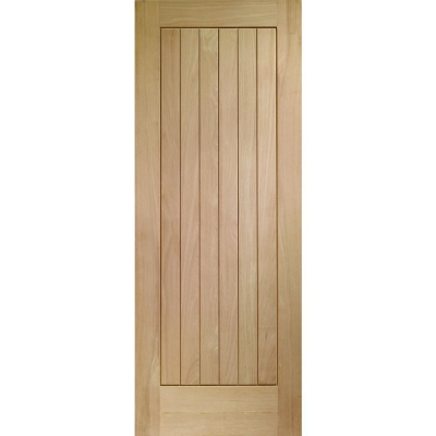 XL Joinery Internal Oak Suffolk Vertical Grooved Flush Door