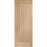 XL Joinery Internal Oak Suffolk Pre-Finished Vertical Panel Fire Door FD30