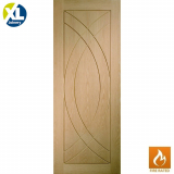 Internal Oak Treviso Fire Door FD30