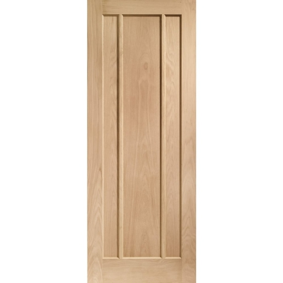 XL Joinery Internal Oak Worcester Panelled Fire Door FD30