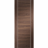 XL Joinery Internal Walnut Forli Pre-Finished Flush Fire Door FD30