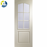 Internal White Moulded Classique 6 Light Clear Glazed Door