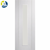 XL Joinery Internal White Primed Forli Pre-Finished Clear Glazed Door