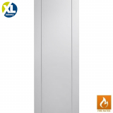 Internal White Primed Forli Pre-Finished Flush Fire Door FD30