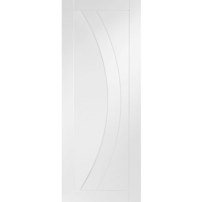 XL Joinery Internal White Primed Salerno Contemporary Grooved Flush Door