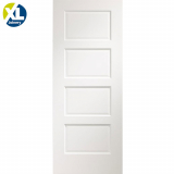 Internal White Severo Pre-Finished 4 Panel Door
