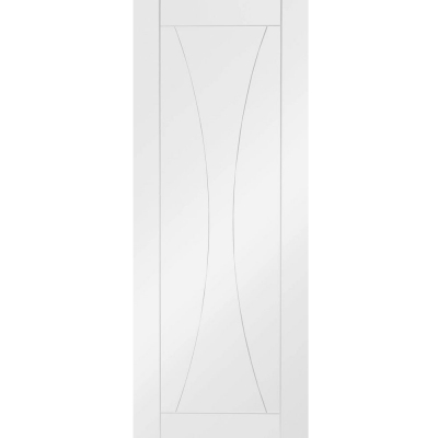 XL Joinery Internal White Primed Verona Contemporary Grooved Flush Door