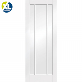 Internal White Primed Worcester Panelled Fire Door FD30