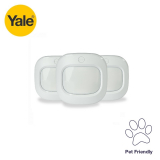 Yale Wireless Pet Friendly Motion Detector – Pack of 3
