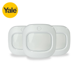 Yale Wireless Motion Detector – Pack of 3