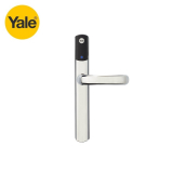 Yale Conexis L1 External Smart Door Lock Handle Chrome