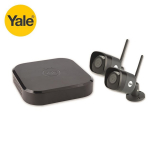 Yale Smart Home WiFi Kit CCTV HD1080 4 Channel DVR 1TB 2 Cameras (4M)