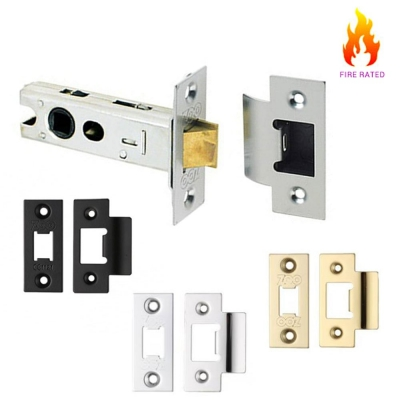 Mortice Door Knob Low Travel Fire Rated Tubular Latch & Spares Accessory Set
