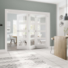 JB Kind External White Thames Medite Tricoya Extreme Pre-finished Door