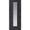 JB Kind Internal GRIGIO Painted Ash Grey Grained Flush Door