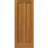 JB Kind Internal Oak Royale 12M Pre-finished Panelled Fire Door
