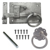 Jedo Hand Forged Suffolk Thumb Latch Door Gate Pewter Finish