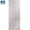 JELD-WEN Atherton White Primed 2 Clear Glazed Panelled Interior Door