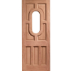 XL Joinery External Hardwood Stable 1 Light Unglazed D&G Door