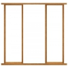 JB Kind External Oak Double Leaf Door Pair Frame Pack