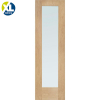 XL Joinery External Oak Modena Contemporary Flush M&T Front Door