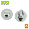 Designer Zinc VENUS Internal Lever on Rose Fire Rated Door Handle Pack
